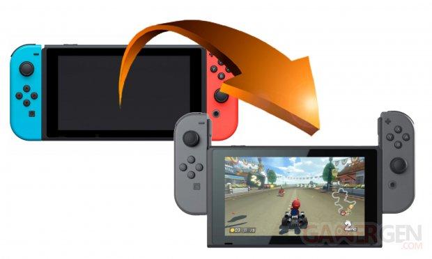 Nintendo Switch Tuto transfere jeu image